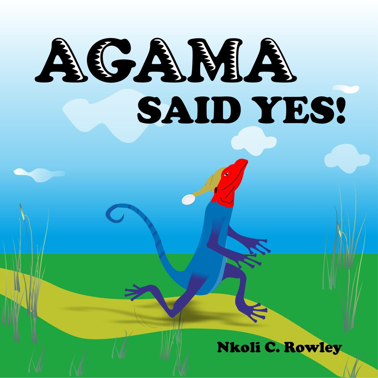 Cover for Agama said yes