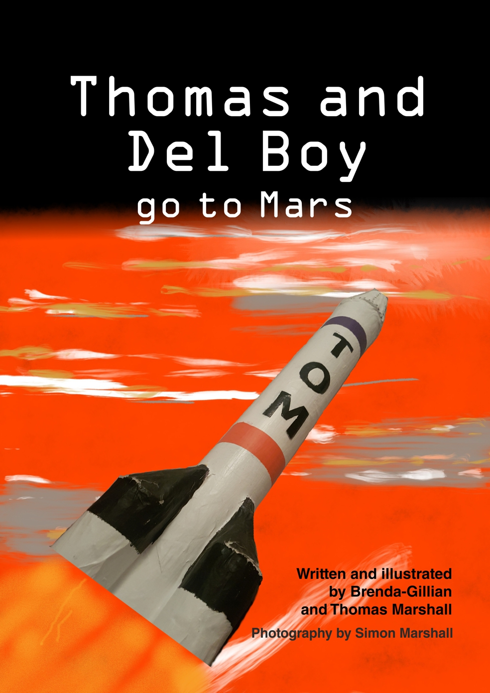 Thomas and Del Boy go to Mars book cover