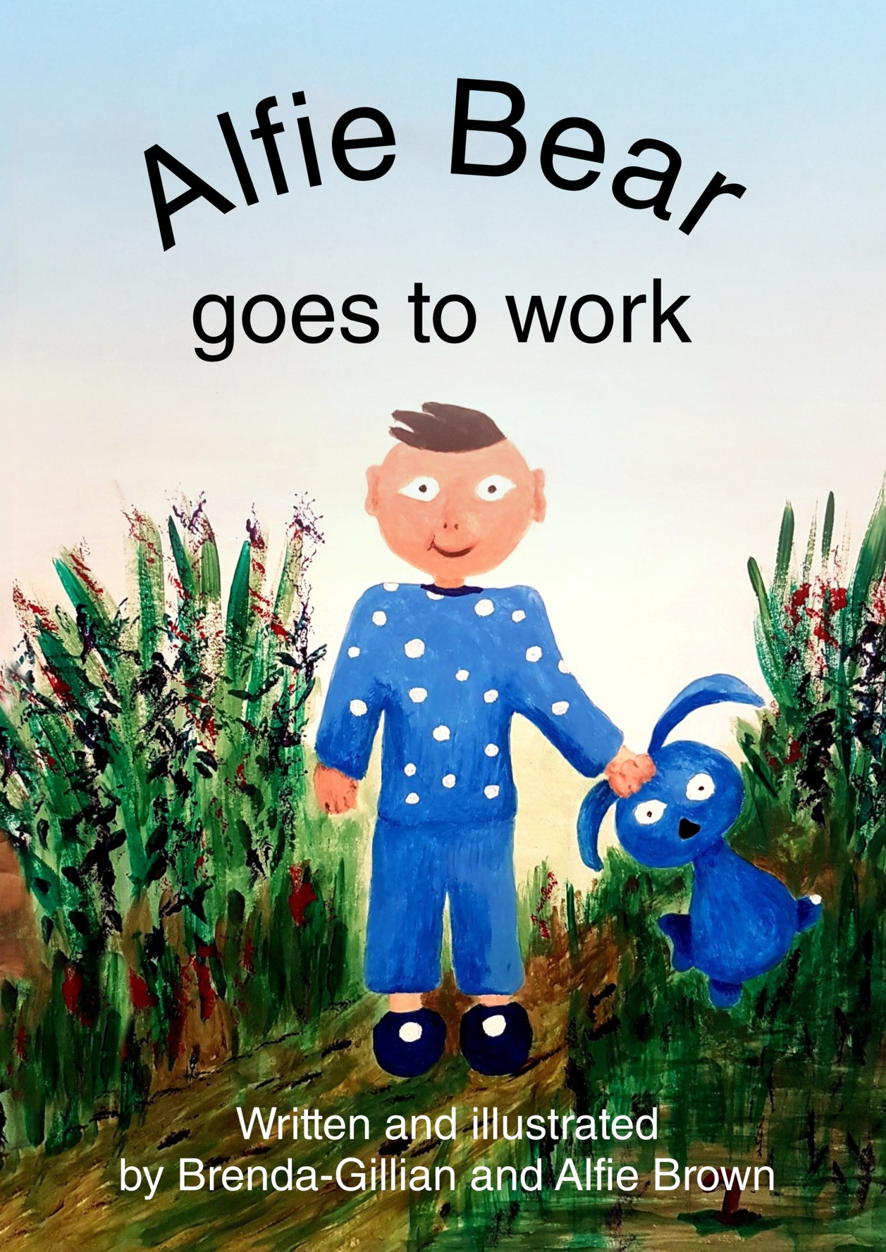 Book Cover Alfie Bear Goes to Work