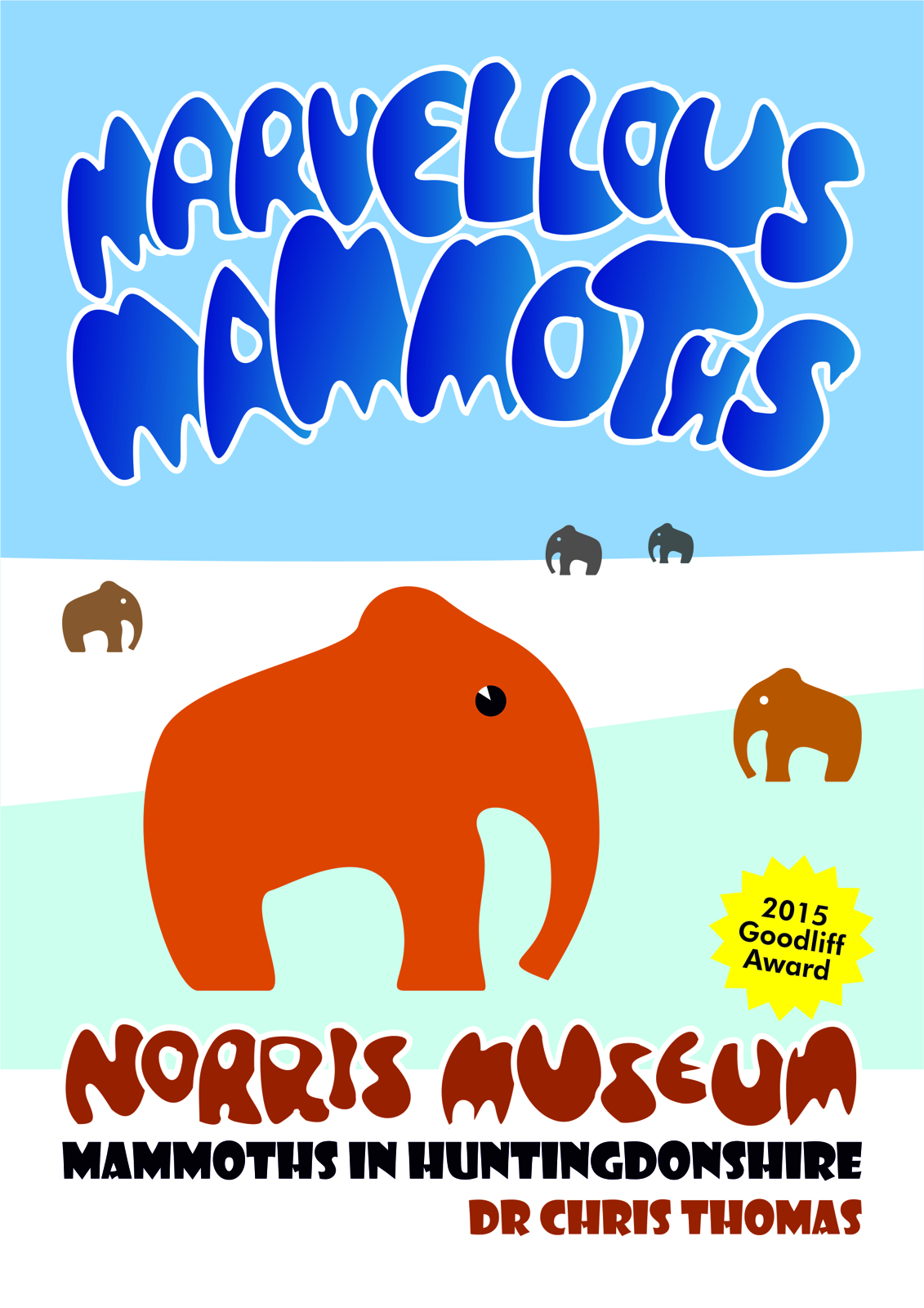 Marvellous Mammoths book cover