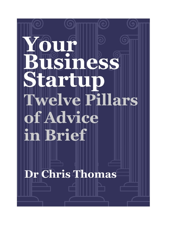 Cover of your business startup: Twelve pillars in brief