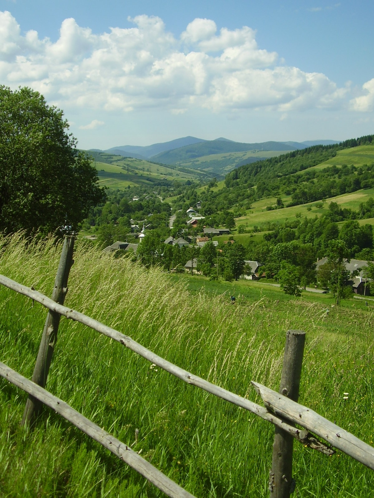 Transcarpathian view by Alexander Stemp