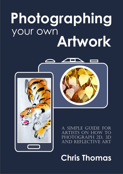 Book Cover Photographing your own artwork